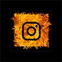 On Fire Broadbeach Greek Taverna Instagram Logo