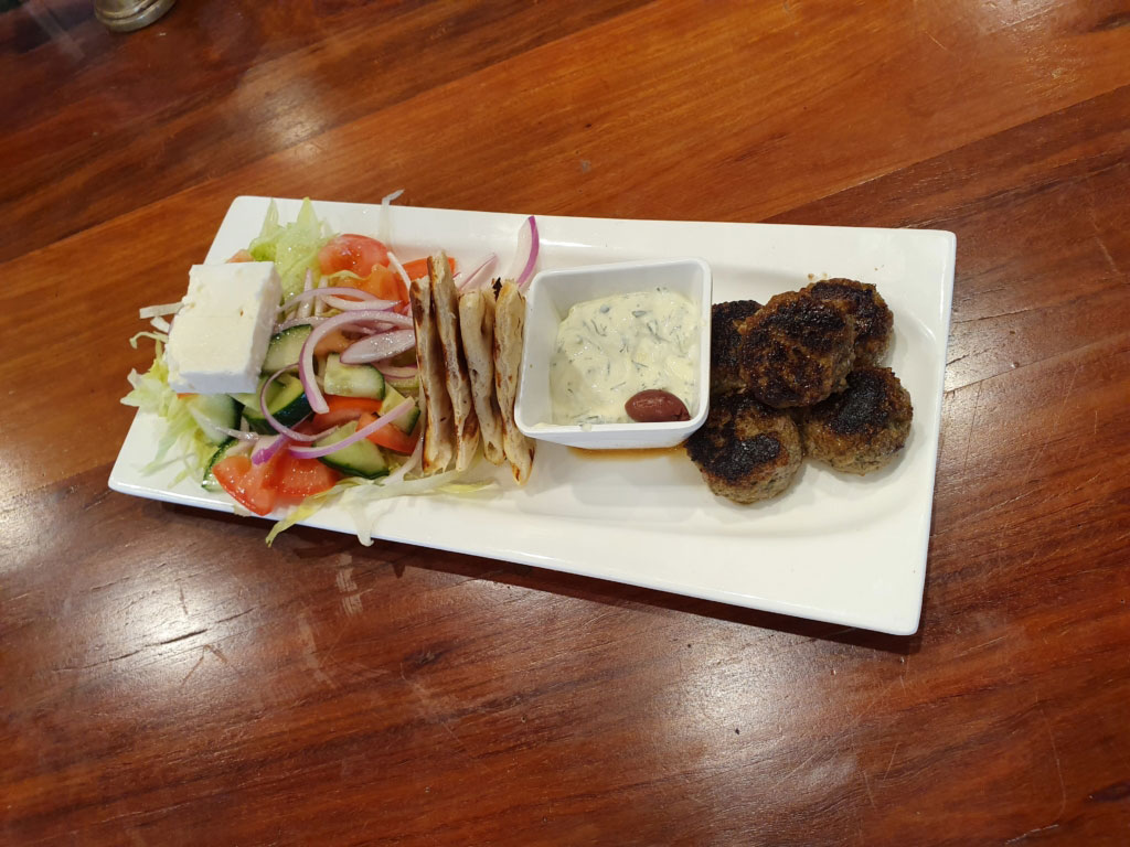 On Fire Broadbeach Greek Taverna Meatballs