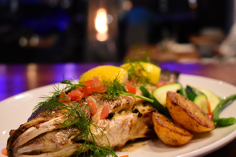 On Fire Broadbeach Greek Taverna Whole Fish