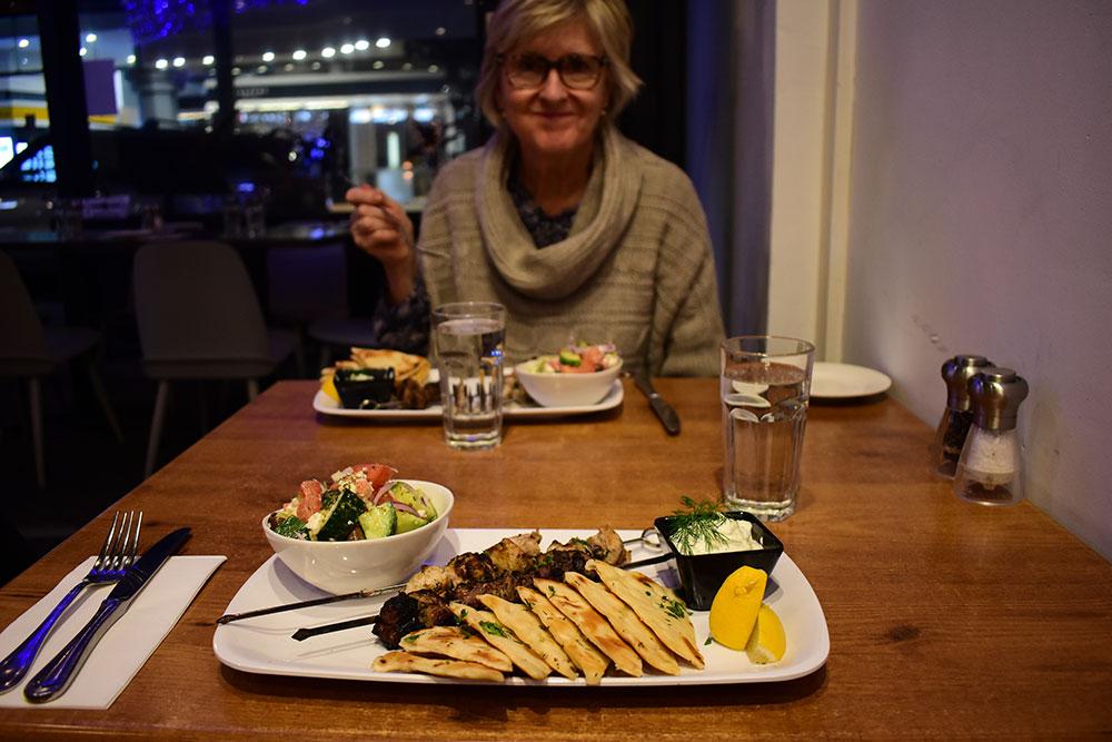On Fire Broadbeach Greek Taverna Meal